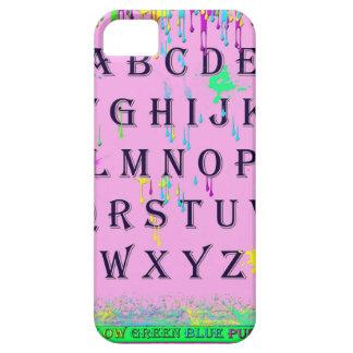 alphabet.jpg iPhone 5 carcasas
