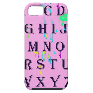 alphabet.jpg iPhone 5 funda