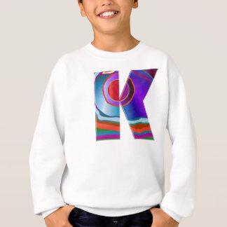 ALPHABET Kay : ID Identity initial name decorative Sweatshirt
