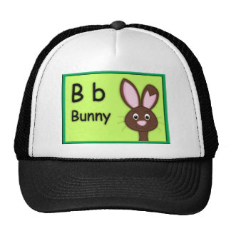Alphabet Letter B is for Bunny Hats