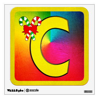 Alphabet Letter C Wall Decal