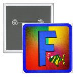 Alphabet Letter F Pin