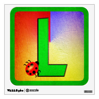 Alphabet Letter L Wall Decal