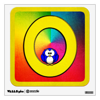 Alphabet Letter O Wall Decals