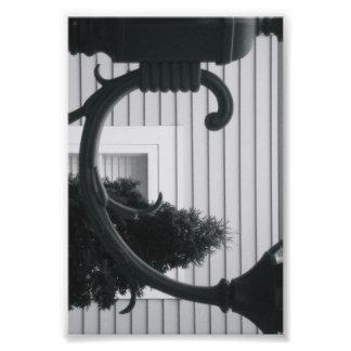 Alphabet Letter Photography C5 Black and White 4x6 Photo Print