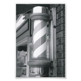 Alphabet Letter Photography I4 Black and White 4x6 Art Photo