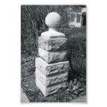 Alphabet Letter Photography I8 Black and White 4x6 Art Photo