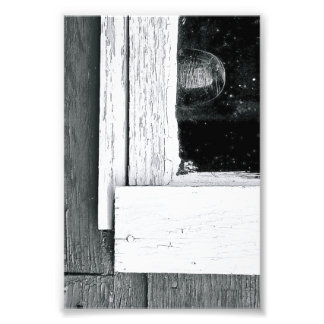 Alphabet Letter Photography L5 Black and White 4x6 Photo Print