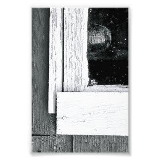 Alphabet Letter Photography L5 Black and White 4x6 Photo Print