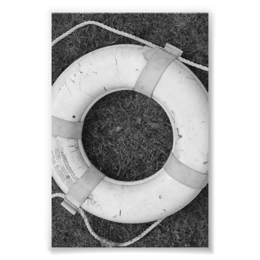 Alphabet Letter Photography O2 Black And White 4x6 Photo