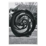 Alphabet Letter Photography O7 Black and White 4x6 Photo Print