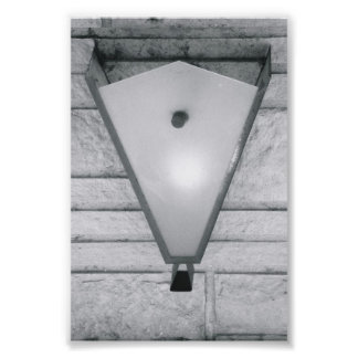 Alphabet Letter Photography V2 Black and White 4x6 Photo Print