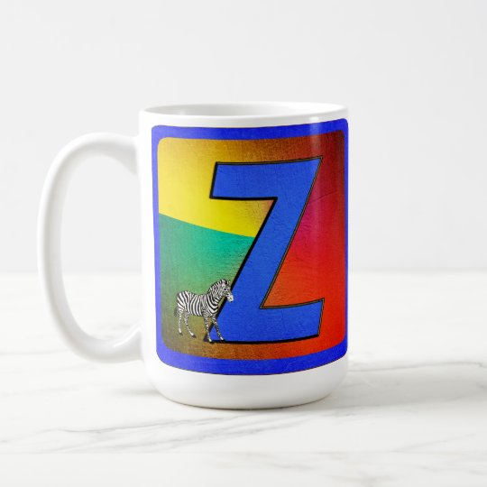 Alphabet Letter Z Coffee Mug