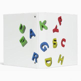 Alphabet Letters Binder