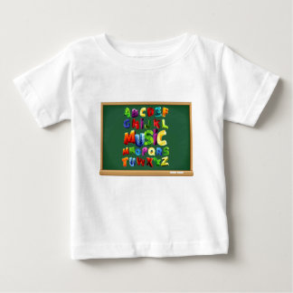 Alphabet Letters for baby t-shirt