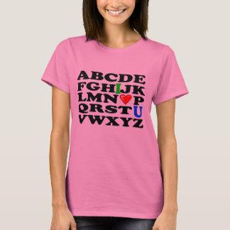 ALPHABET LOVE T-Shirt