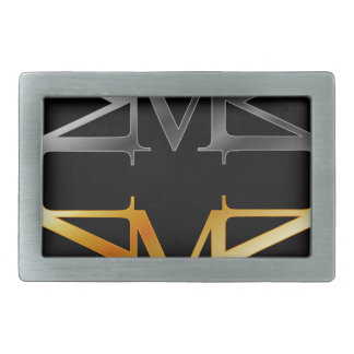 Alphabet M Belt Buckle