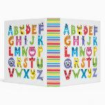 Alphabet Monsters Binder