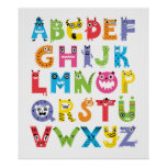 Alphabet Monsters Posters
