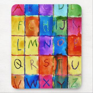 Alphabet Mouse Pad