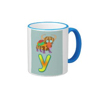 Alphabet mug / y-yak