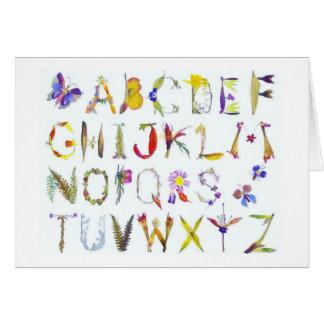 Alphabet Note Cards