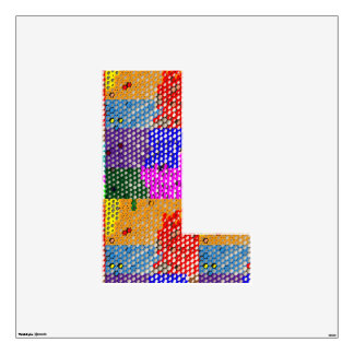 ALPHABET NUMBER WALL SKIN
