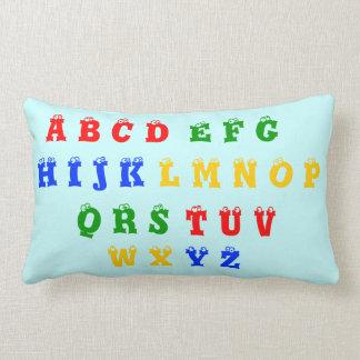 Alphabet & Numbers & colours Lumbar Pillow