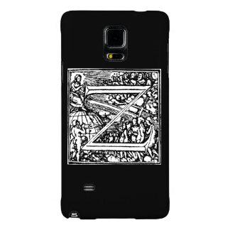 Alphabet of Death letter Z Galaxy Note 4 Case