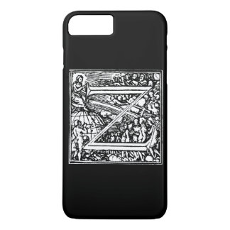 Alphabet of Death letter Z iPhone 8 Plus/7 Plus Case