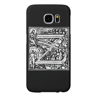 Alphabet of Death letter Z Samsung Galaxy S6 Case