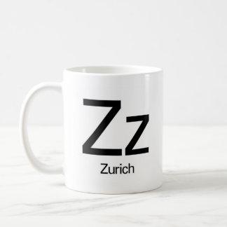 Alphabet Of Typography Mug - Zurich