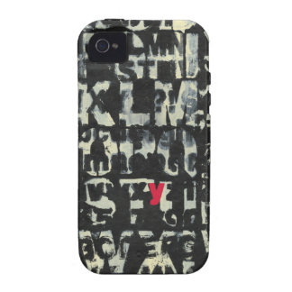 Alphabet Painting by Norman Wyatt iPhone 4/4S Cover