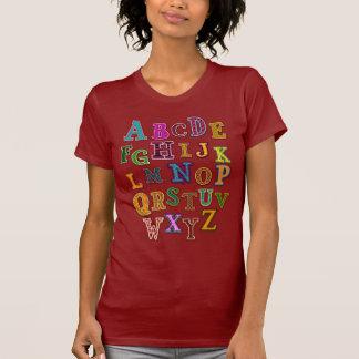 Alphabet Patches T-Shirt