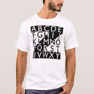 """""""Alphabet Piece"""", 2003 T-Shirt"""