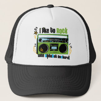 "Alphabet Rockers ""I Like To Rock"" Hats"