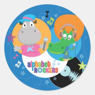 Alphabet Rockers Stickers