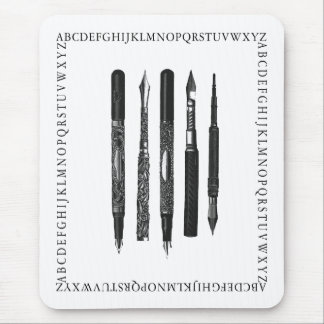 Alphabet School Mouse Pad