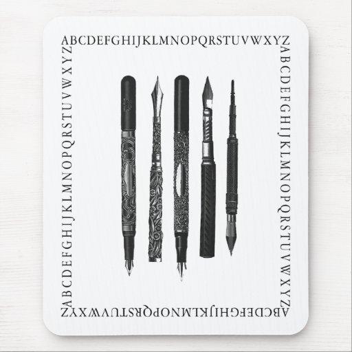 Alphabet School Mouse Pads