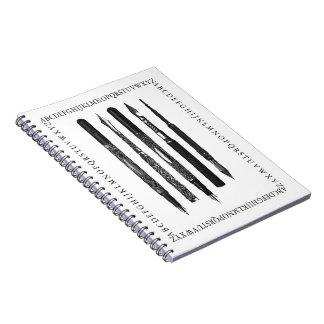 Alphabet School Notebook