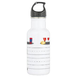 Alphabet sheet 18oz water bottle