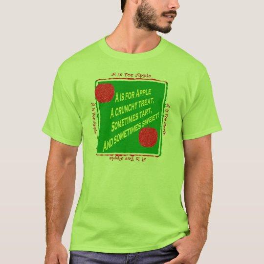 Alphabet Soup Childrens Poetry (A) T-Shirt