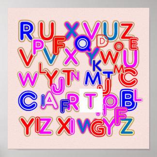 ALPHABET SOUP :  Find your alphabet QUIZ Print