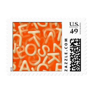 alphabet soup stamp