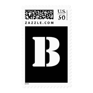 Alphabet Stamp B
