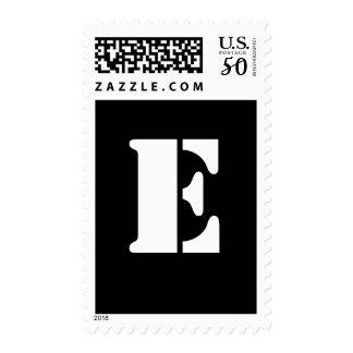 Alphabet Stamp E