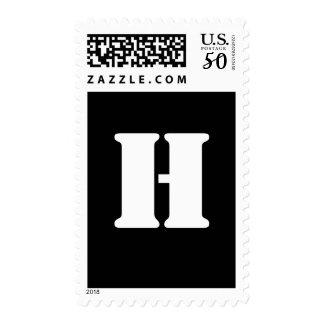 Alphabet Stamp H