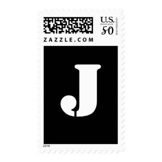 Alphabet Stamp J