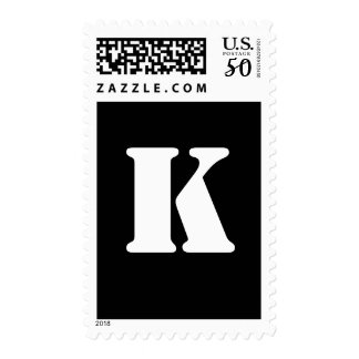 Alphabet Stamp K