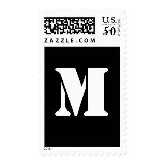 Alphabet Stamp M